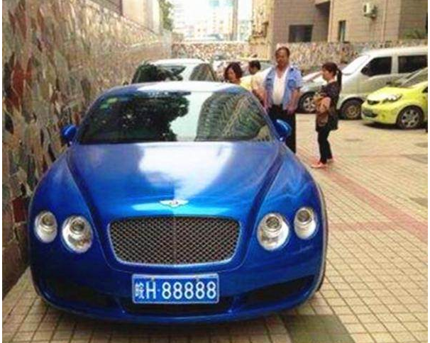 中国最贵的4个车牌 第一拍出天价 车主:给十辆劳斯莱斯都不换 牌照丢了肿