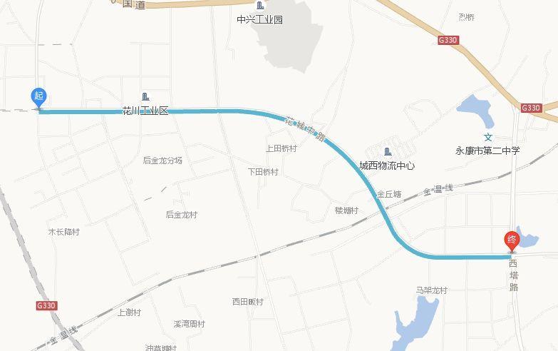 永康市区地图高清版