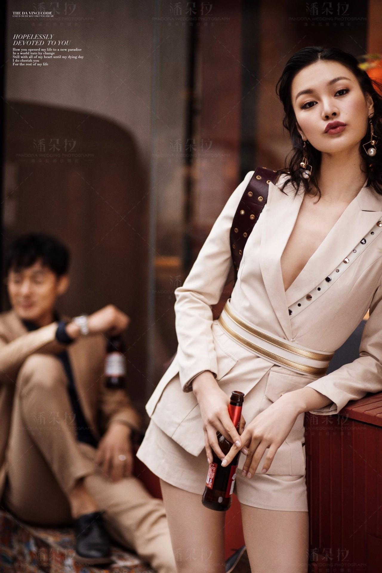 北京婚纱摄影:我是酷女孩,帅气新娘怎么拍婚照?