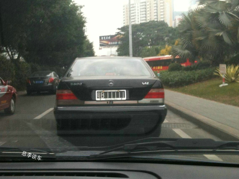深圳最牛的黑牌照,9辆车已报废2辆,剩下的7辆