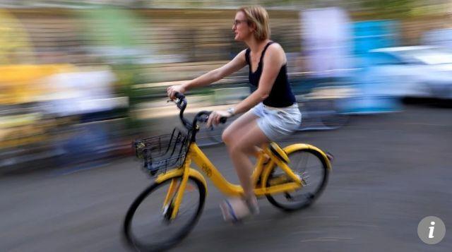 """站点少故障多!巴黎当地共享单车不给力 中国多家巨头""""抢地盘"""""""