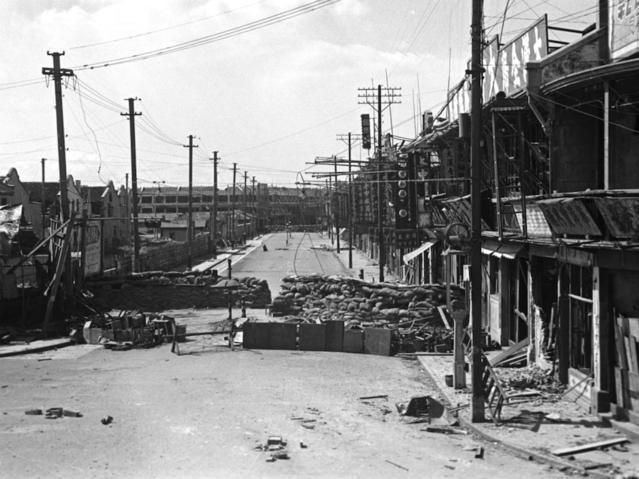 上海旧影1937年,八·一三淞沪会战爆发