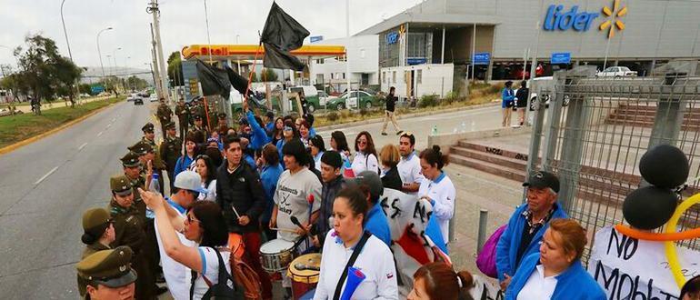 智利工人为何有力量去对抗强大的沃尔玛?