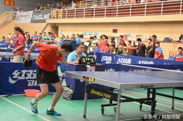 山西省运会乒乓球比赛开赛 249名运动员将展开角逐