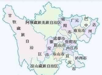 四川的gdp_四川地图