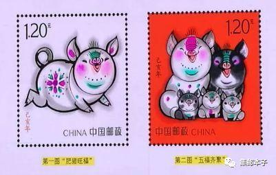 猪年邮票三只小猪,预示计划生育将全面放开?