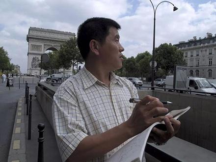 """鲁美 """"中国传统花鸟画研习班"""",著名画家张晖现场授课"""