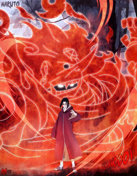 火影忍者:宇智波鼬最帅的4种须佐能乎,谁说需要完全体
