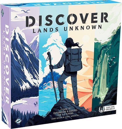 FFG公布新型生存冒险游戏《Discover: Lands Unknown》每一盒游戏都独一无二让玩家拥有真正的开箱快感