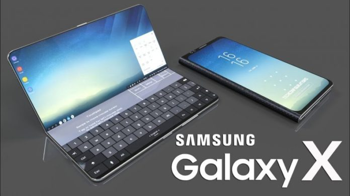 三星在全球推出首款可折叠智能手机 并将于今年内亮相