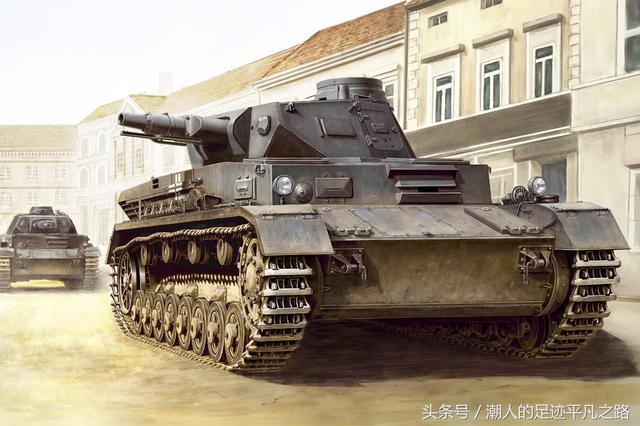 德国4号坦克_二战时期德国四号坦克发展史,德军4号的坦克秘密_型坦克