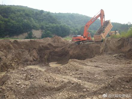 南泥湾米庒村耕地被挖 主管部门置之不理