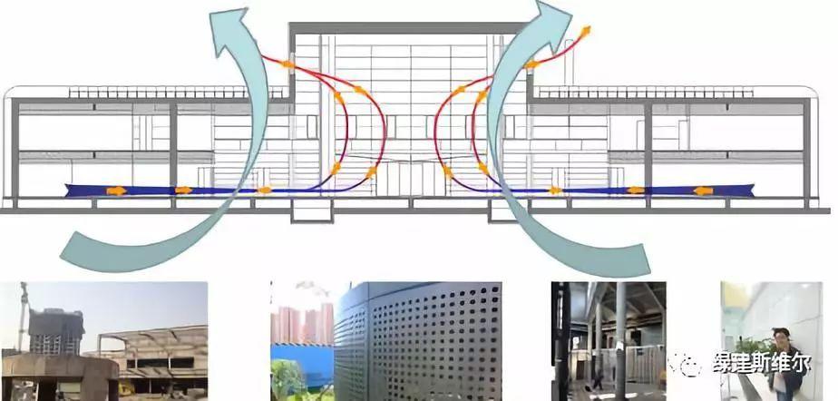 【资讯】超低耗古人建筑设计与案例分析--中绿色绘制建筑图图片