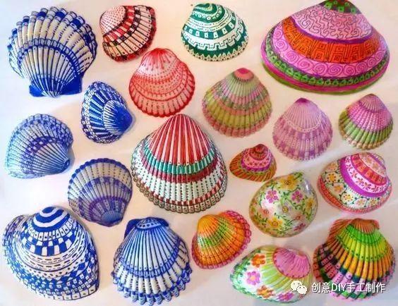 【爱创意】10 玩转贝壳创意的手工
