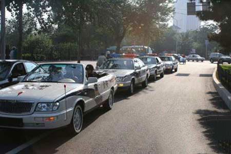大量红旗H5和H7被购买作为警车,在街上行驶,领先于图表!