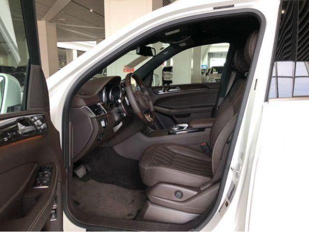 2018款奔驰GLS450商务SUV现车促销 天津港最新报价