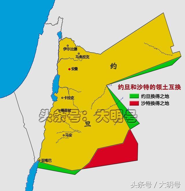 约旦人口多少_海岸线有多重要,只为了12公里海岸线,约旦付出近领土的7