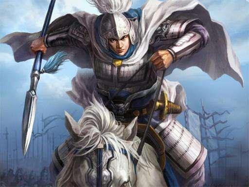 古代三位著名的白袍将军