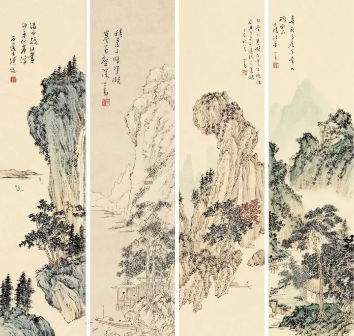 溥儒书画艺术欣赏图片