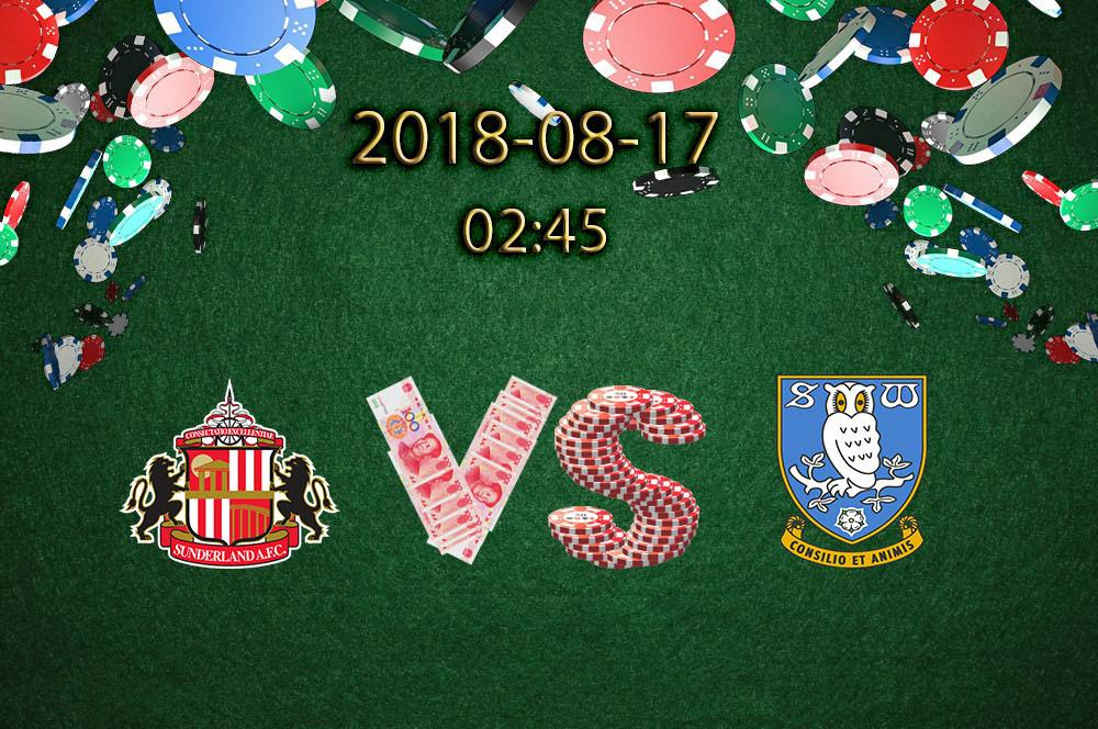 杰少足彩推荐英联杯:桑德兰 VS 谢周三