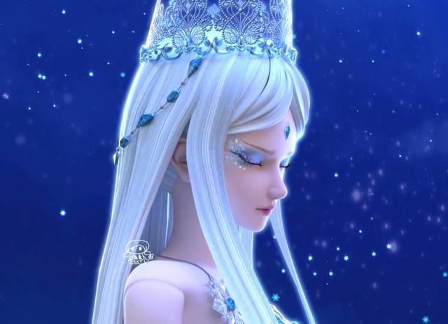 叶罗丽仙子的形象随剧情不断更新,冰公主终于摘下金箍