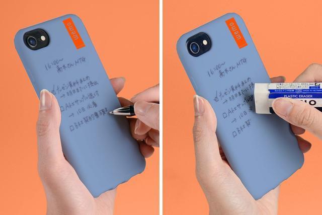 堅信好記性不如爛筆頭的你有福了!可隨意擦寫手機殼你值得擁有!
