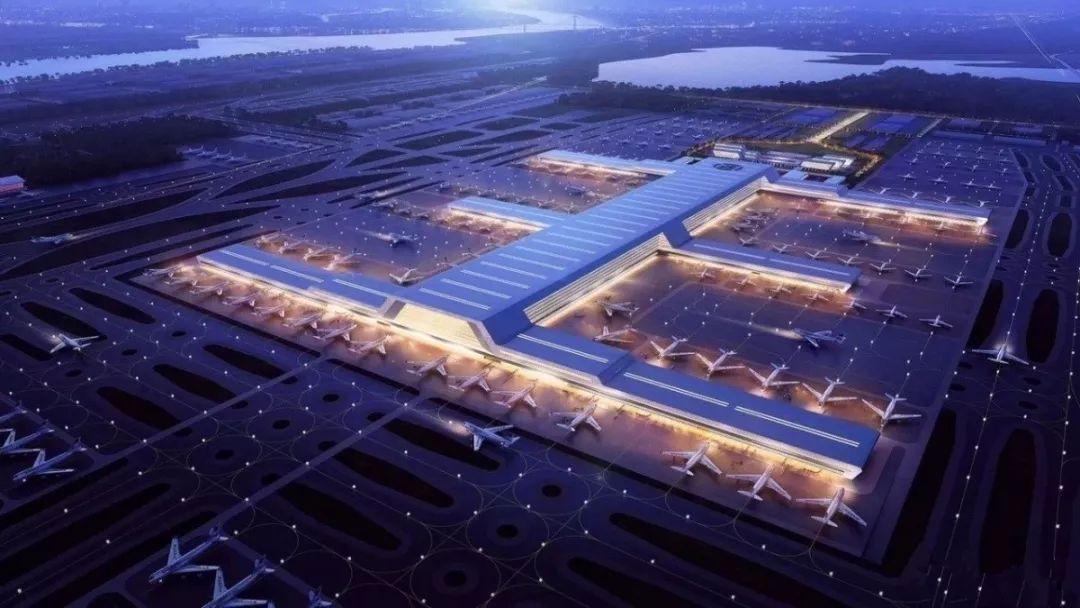 鄂州飞机场交通规划图