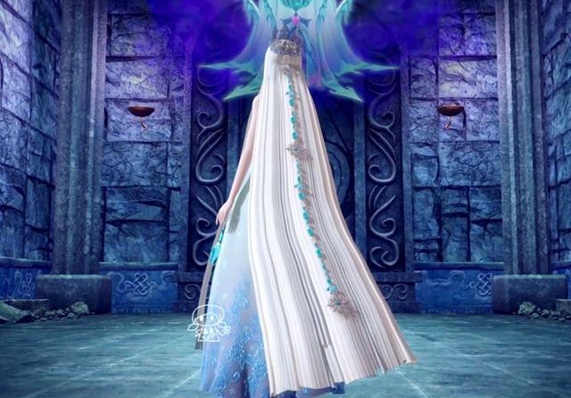 四个头发上有坠链的叶罗丽仙子,冰公主的最长,荒石的很贵重图片