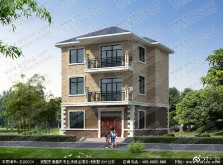 4米住宅设计6 别墅设计图纸,新农村别墅,农村自建房设计鼎川其它设计