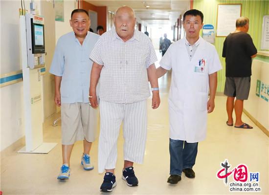 93歲超高齡急性腦梗患者在江蘇淮安市一院取栓治療成功