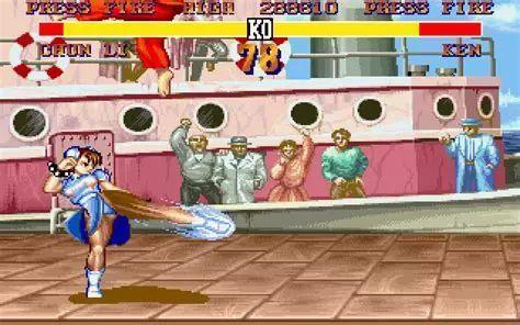 micosoft的《halo》 capcom 1991年的arcade游戏《street fighter
