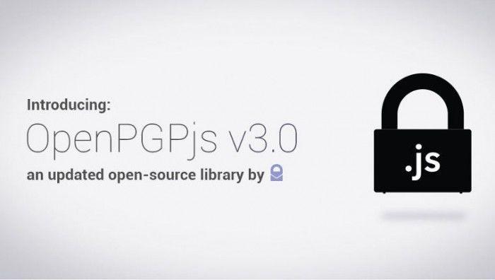 JS加密庫OpenPGPjs 3.0已通過獨立安全審計