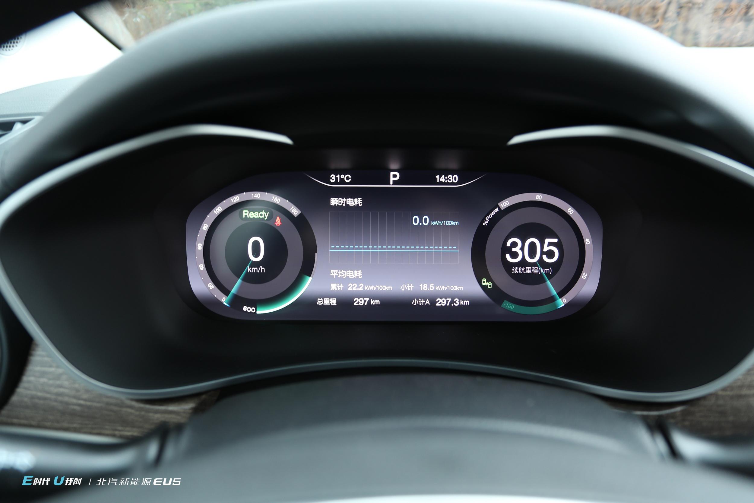 升级之后的真正智能车 试驾北汽新能源EU5