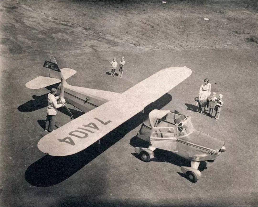 飞行汽车的照片 -6