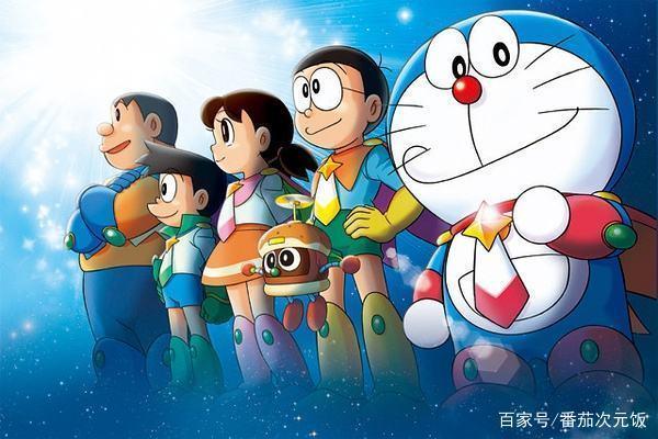 友情:哆啦a梦与胖虎,都是大雄的好朋友!