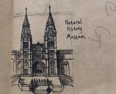 白同学手绘行走过的历史建筑