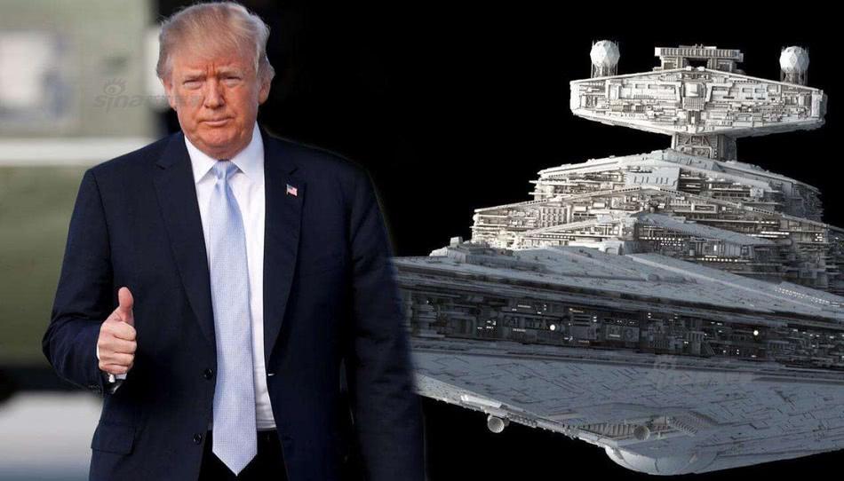 美國組建太空軍的理由是什麼?特朗普:對手已經在太空部署武器!