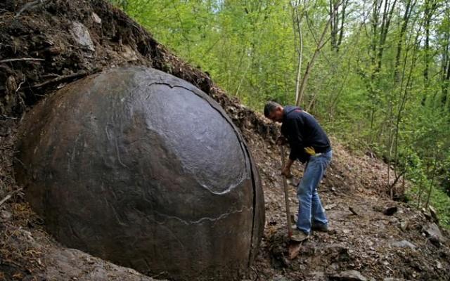 世界最古老人造球体被发现?被误认为有黄金而被摧毁