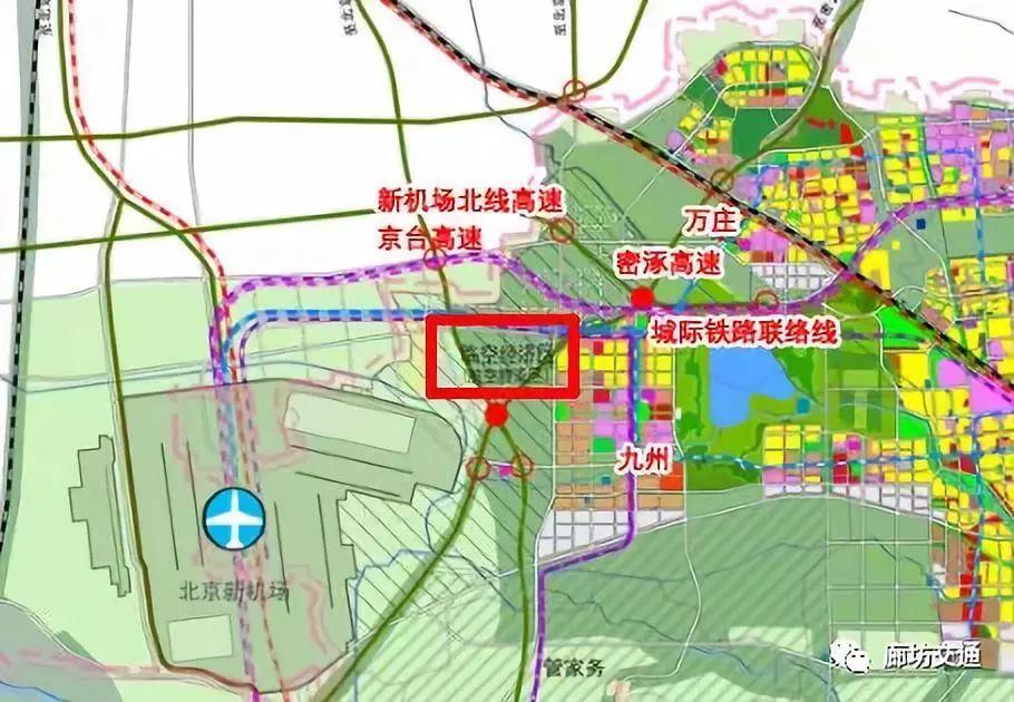 周至新区规划图位置