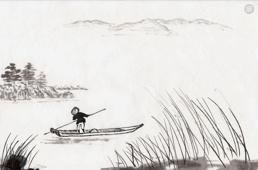 画祖国大好河山的手抄报怎么画最简单?图片