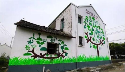 美丽乡村遇上手绘墙画,就是向往的生活