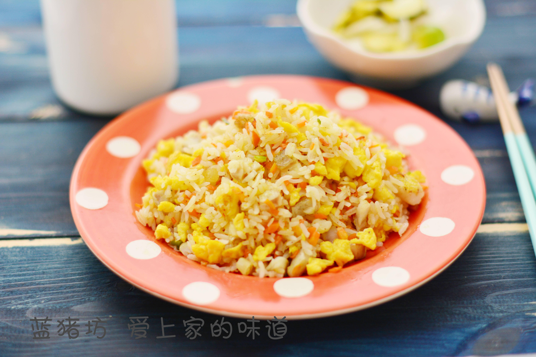 不想炒菜,试试这碗鳕鱼炒饭,快捷又好吃,几分钟就能搞定美食