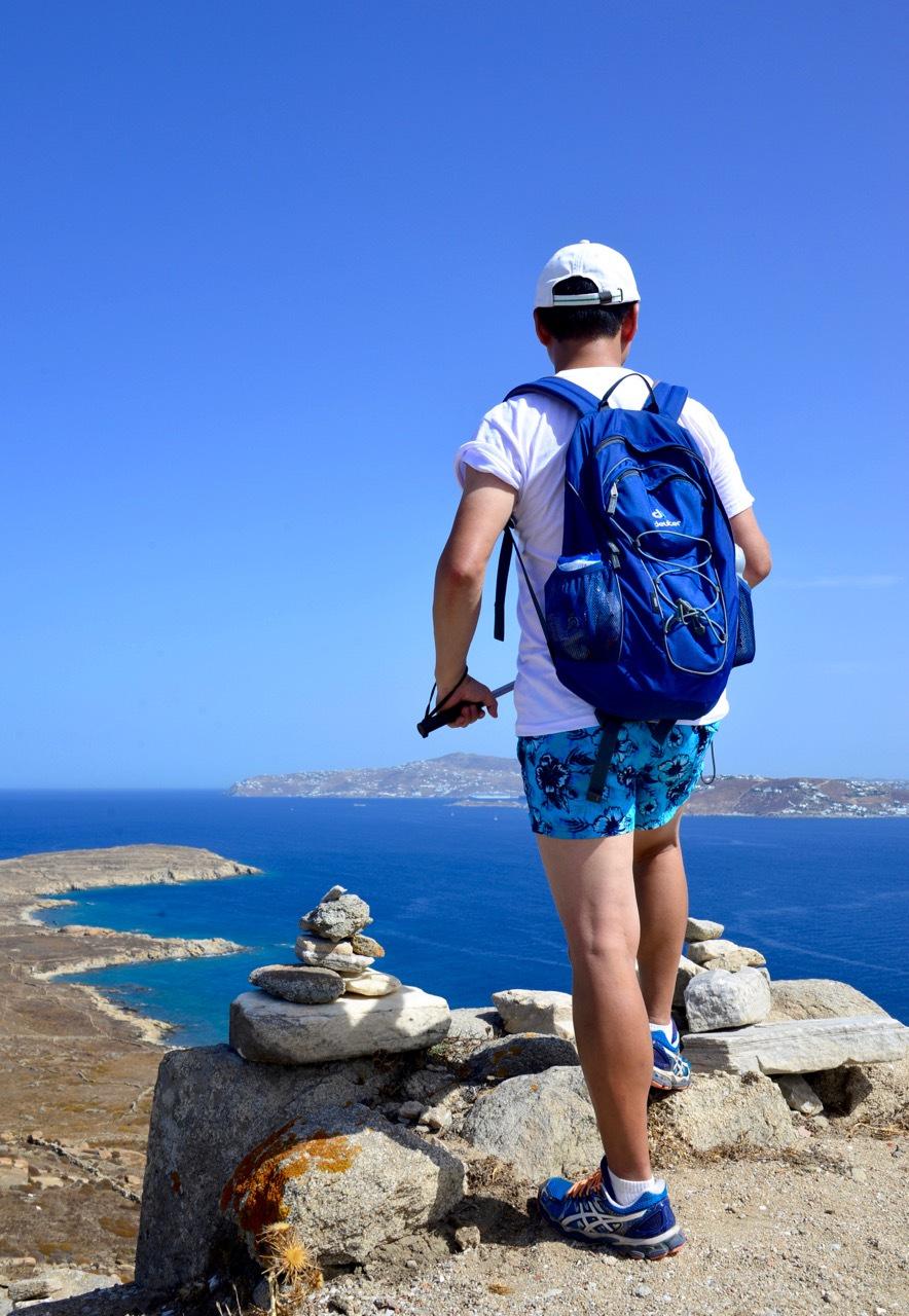 希腊旅行故事:假装一个人去看海... ...