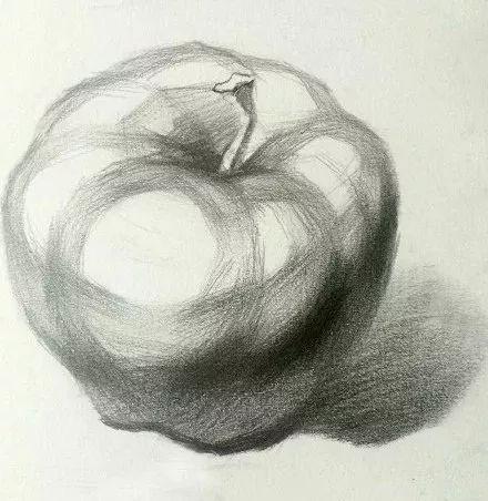 三分钟学画 教你零基础画素描苹果