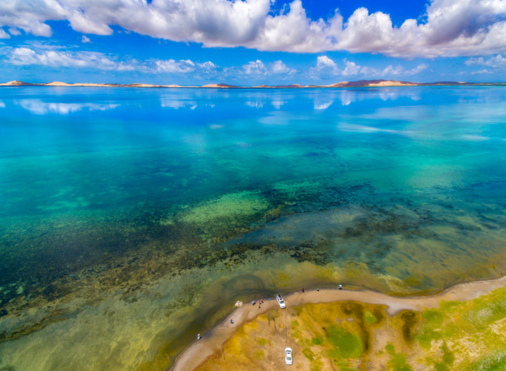 航拍角度下的青海,这些景点美得与众不同
