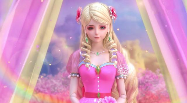 动漫 正文  守望着冰晶川的冰公主,作为在精灵梦叶罗丽第四季出现的第图片