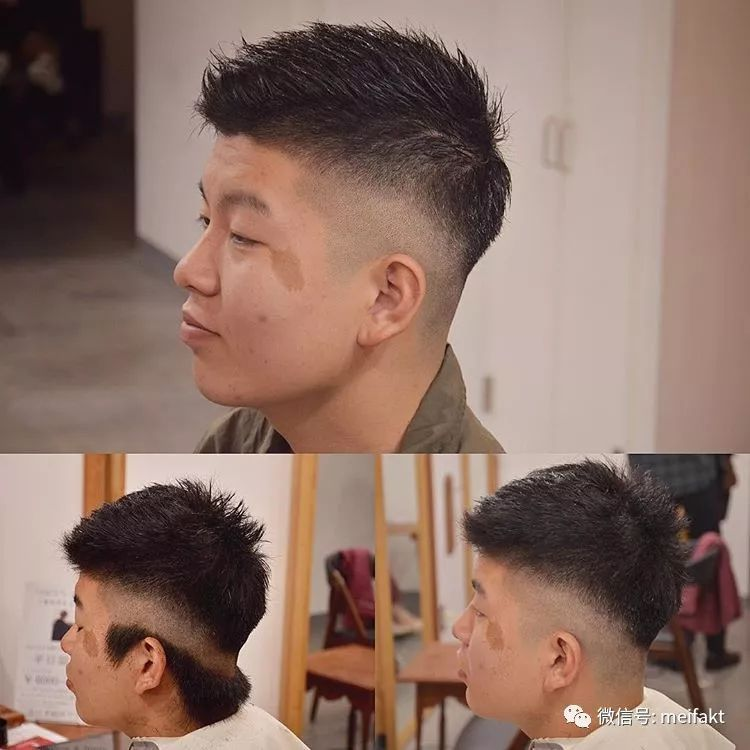 2018男士发型 散发魅力型男风范图片
