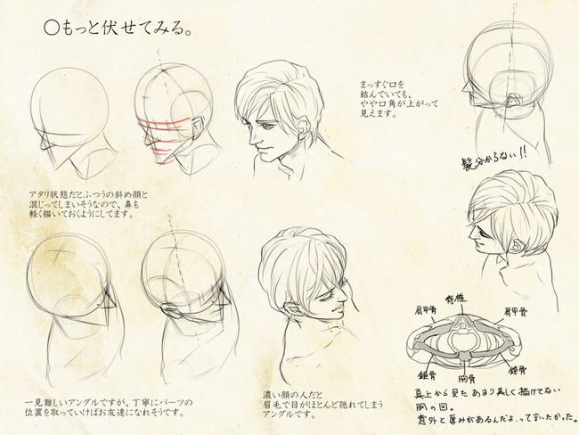 【精选】手绘动漫人物脸型的画法