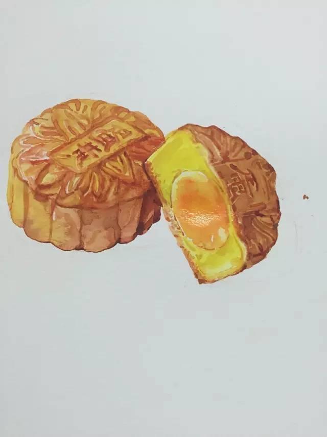 【推荐教程】教你如何手绘月饼