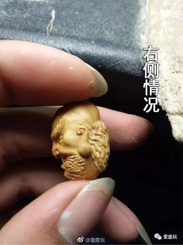 橄榄核罗汉雕刻教程!你也学着雕一个?图片